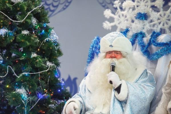 Так выглядит тюменский Дед Мороз. Его собрата из Великого Устюга увидите на следующей неделе