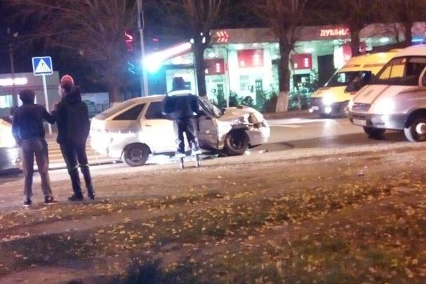 ДТП на Полевой устроил неопытный водитель