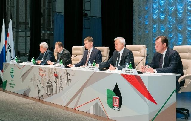 В Перми прошла рабочая встреча главы Прикамья и президента ПАО «ЛУКОЙЛ»