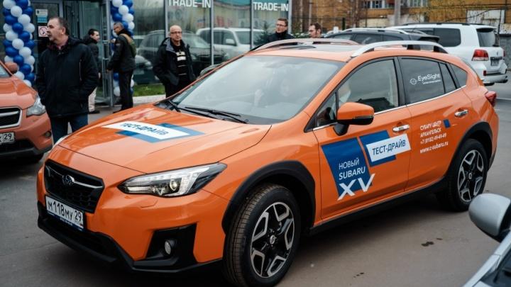 Новый Subaru XV вдохновил северян инновациями и умным дизайном