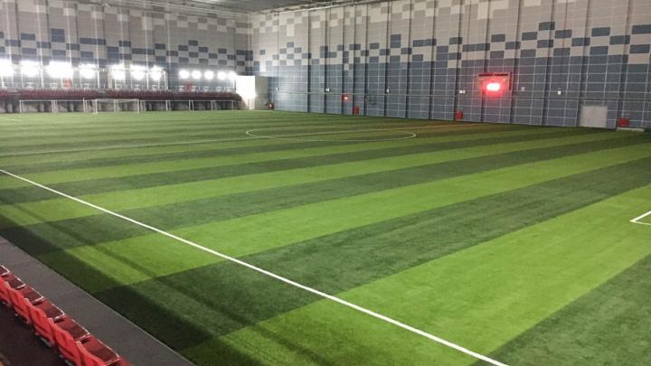 Завершено строительство спортивного манежа «Пермь Великая»