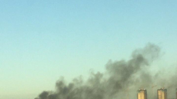 Из-за неосторожного обращения с огнем в Тюмени сгорел дом