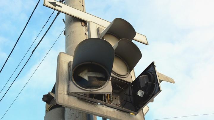 Челябинцы нашли ещё один «мёртвый» светофор в Тракторозаводском районе