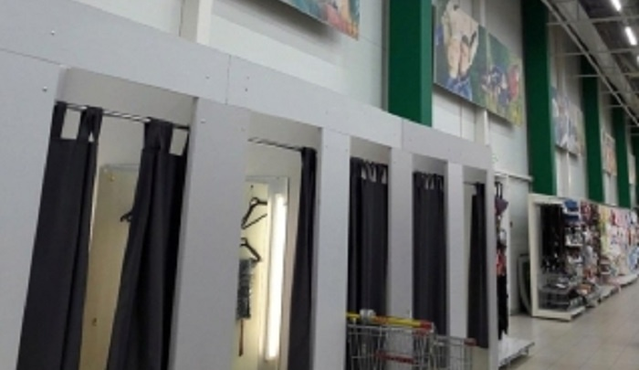 Ростовчане нашли камеры видеонаблюдения в примерочных гипермаркета