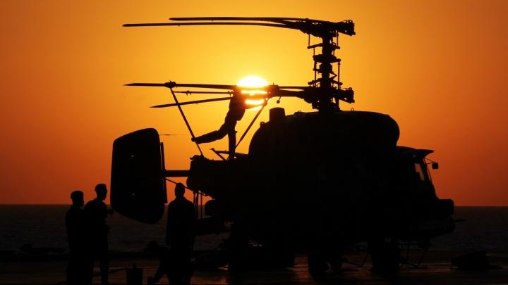 В Сирии разбился российский вертолёт Ми-24