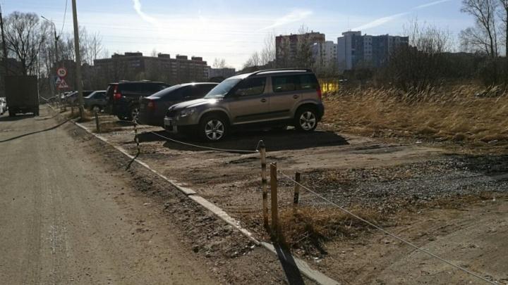 Битва за парковку: кому можно огораживать место под машину во дворе