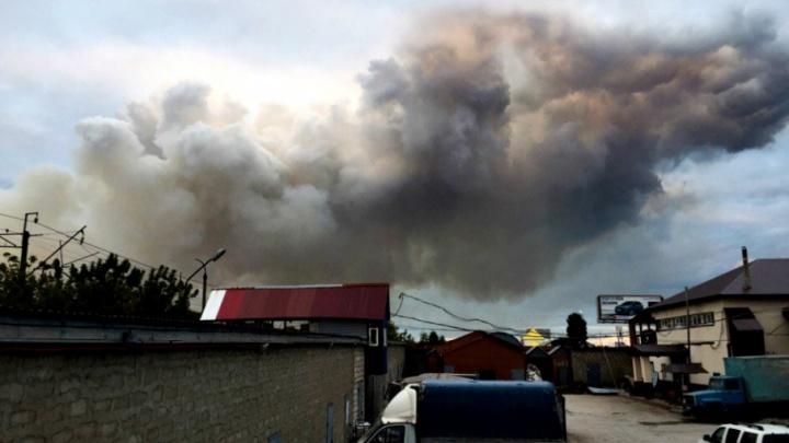 «Все в дыму»: под Тольятти горят поля