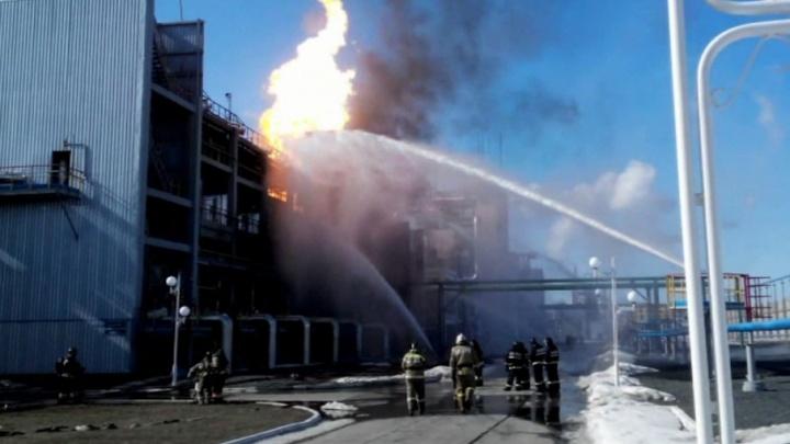 В Самаре наградили  огнеборцев за отвагу на крупном пожаре
