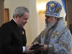 Виктора Басаргина наградили церковным памятным знаком