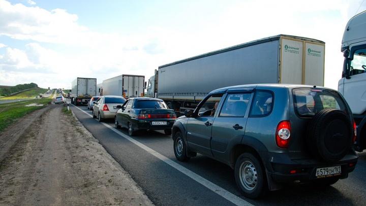В начале августа на несколько дней перекроют трассу Ростов–Азов
