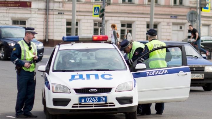 Ярославские полицейские устроили погоню за нетрезвым водителем без прав