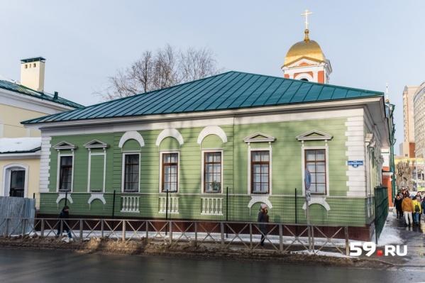 Дом старообрядца Крылова