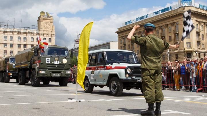 В Волгограде вновь выйдет на старт международное «Военное ралли»