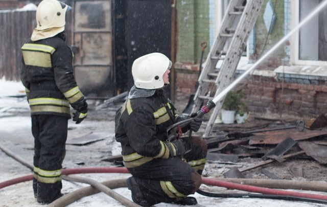 В Тольятти при пожаре обнаружили тело мужчины