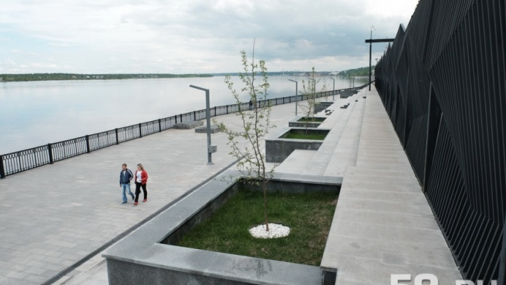 Оранжерея, музыкальный фонтан и парк искусств: пермские власти рассказали о планах на набережную