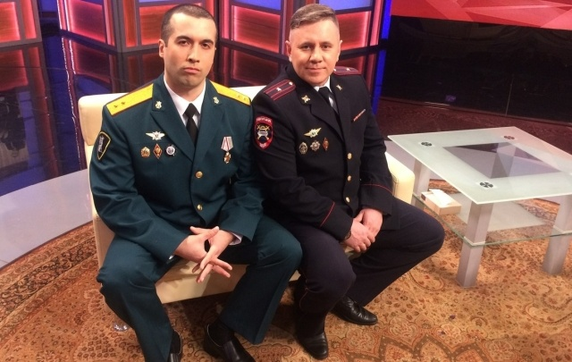 Полицейские-рэперы из Перми снялись в ток-шоу на Первом канале