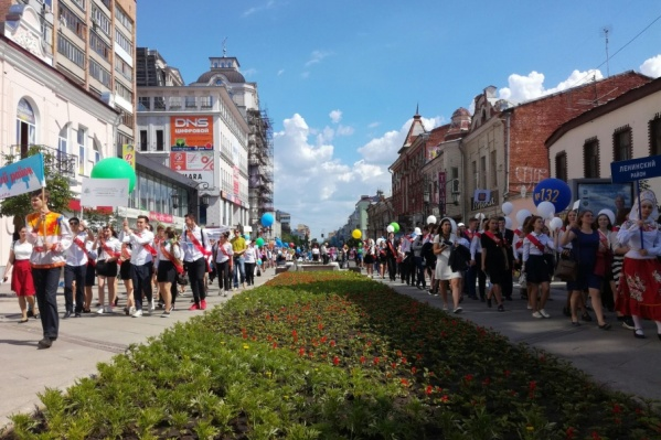Шествие выпускников пройдет на Ленинградской