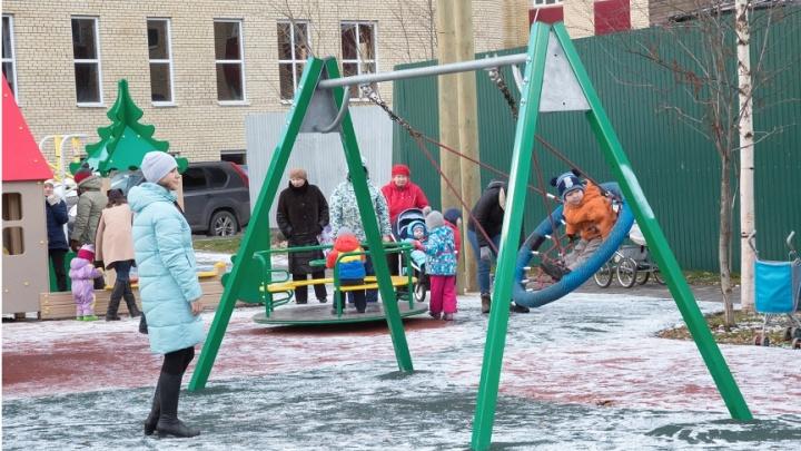 «Аквилон Инвест» построил в Архангельске еще одну детскую площадку
