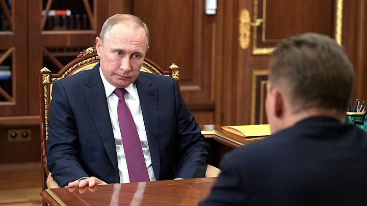 Глава «Газпрома» пожаловался президенту на Волгоградскую область