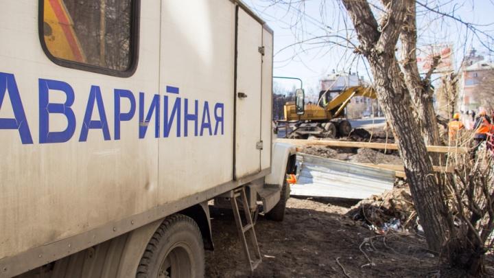Вода и электричество отключены в домах Архангельска до конца рабочего дня