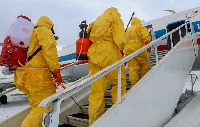 Силовики спасли челябинский аэропорт от «террористов» и сибирской язвы