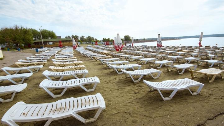 Пляжный сезон в Челябинске откроют в намеченный срок, несмотря на холод