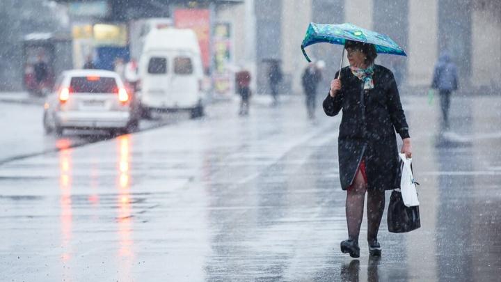 Первые дни новой недели в Волгограде будут дождливыми