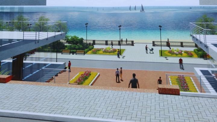 В Тольятти построят набережную с тремя амфитеатрами и велодорожками