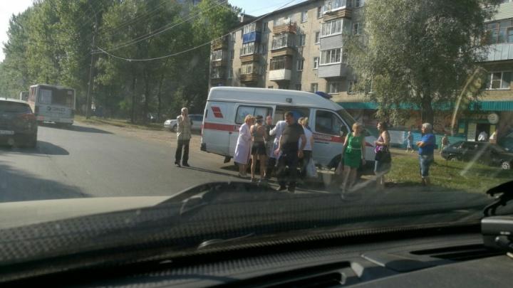 На Тутаевском шоссе на пешеходном переходе сбили женщину