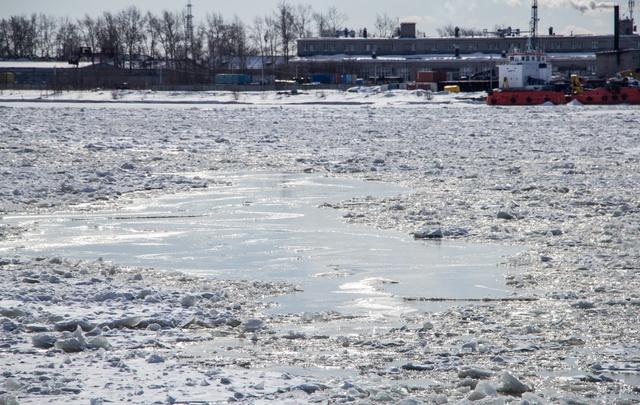 На юге Архангельской области ледоход пойдет интенсивнее