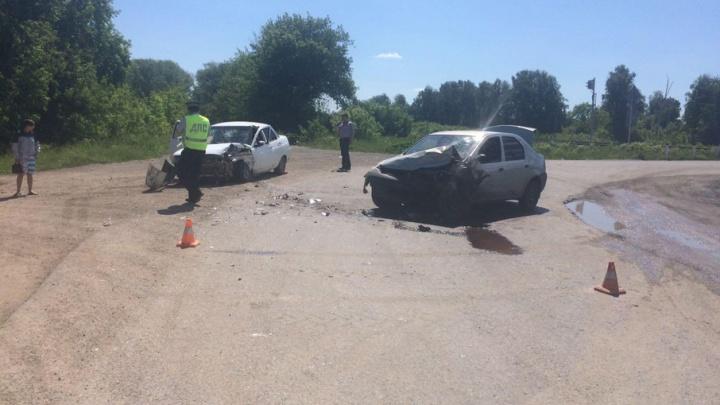 Из-за пьяного водителя на трассе в Челябинской области ранен мужчина на «десятке»