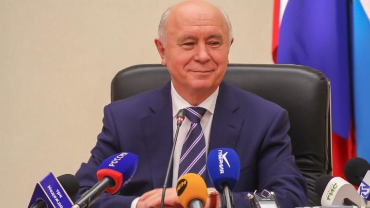 Вопрос об отмене доплаты к пенсии Николая Меркушкина согласуют с правительством Самарской области