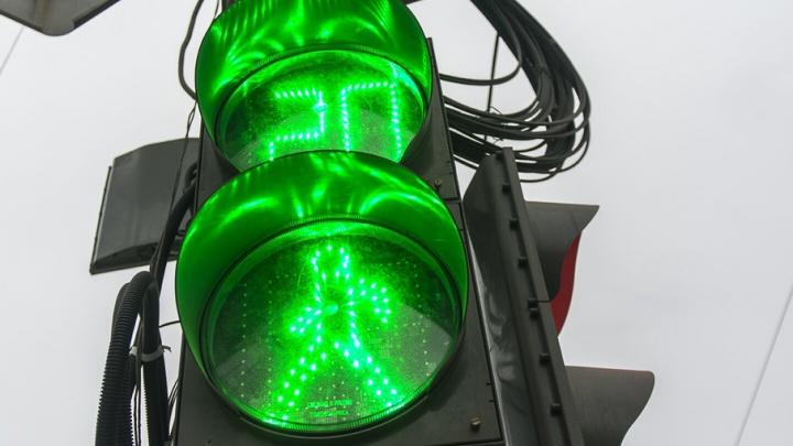 В Ростове водитель сбил на светофоре двухлетнюю девочку