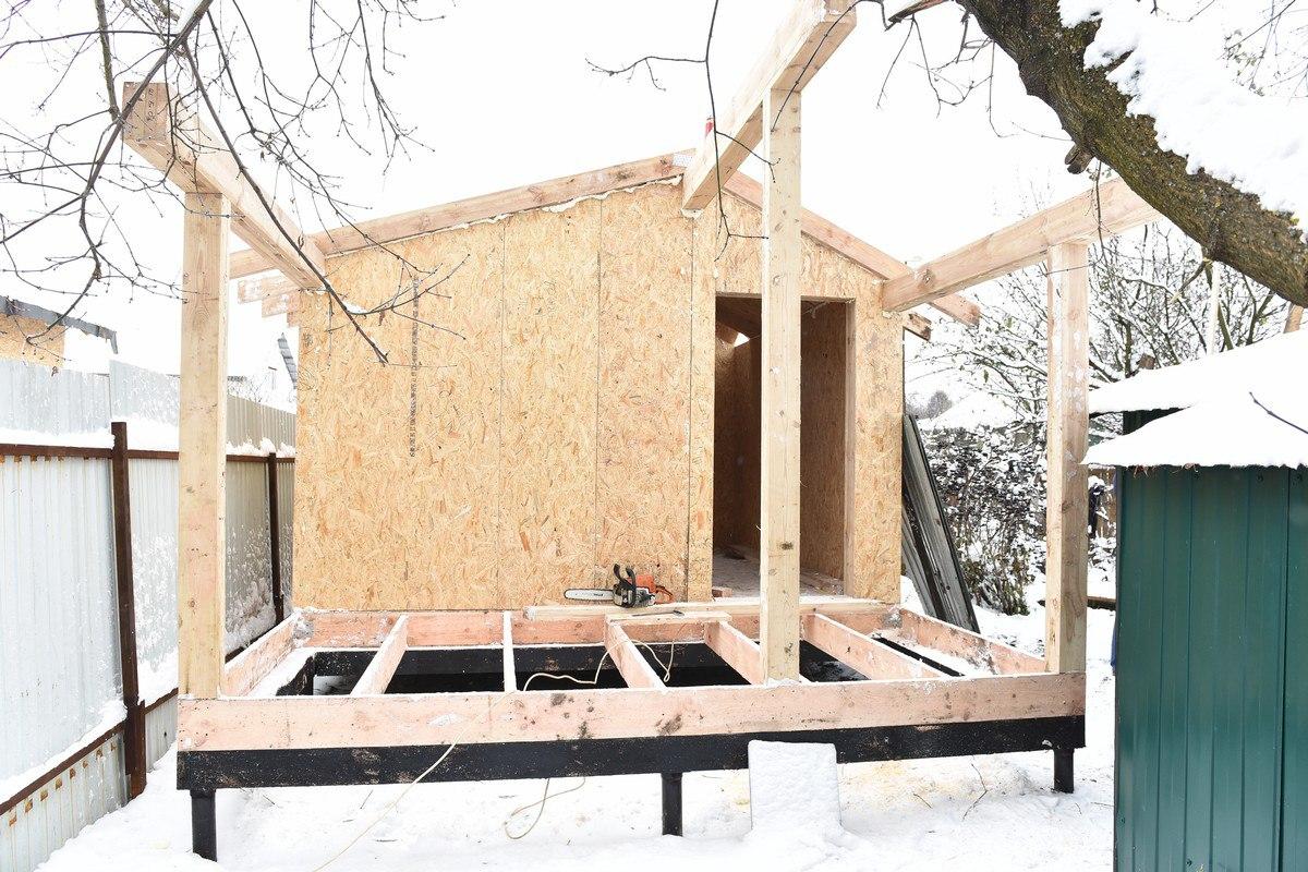 Дом, который построили активисты на собранные деньги
