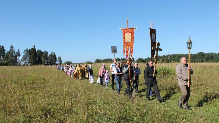 Крестный ход в шесть километров совершат в Каргопольском районе