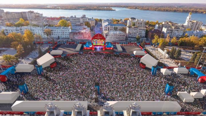 В Самаре за порядком на массовых мероприятиях будут следить 300 видеокамер