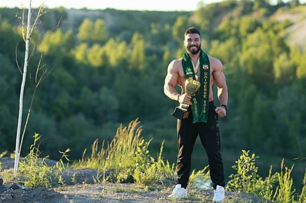 Эдуард Кривенко дважды завоевал титул «Мистер модель Вселенной»