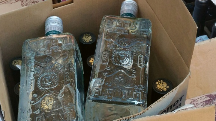 С челябинца взыскали 200 тысяч рублей за оптовую торговлю палёным Hennessy