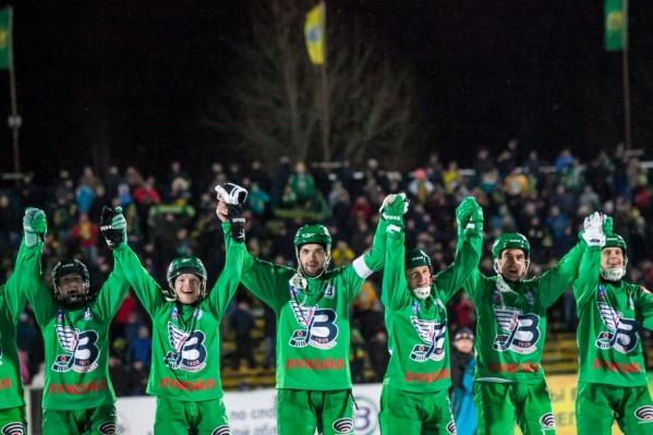 С минимальным преимуществом «Водник» обыграл шведский АИК