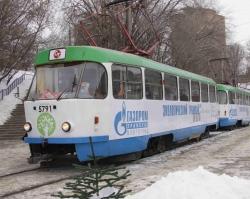 По Волгограду можно проехать на «Экологическом трамвае»