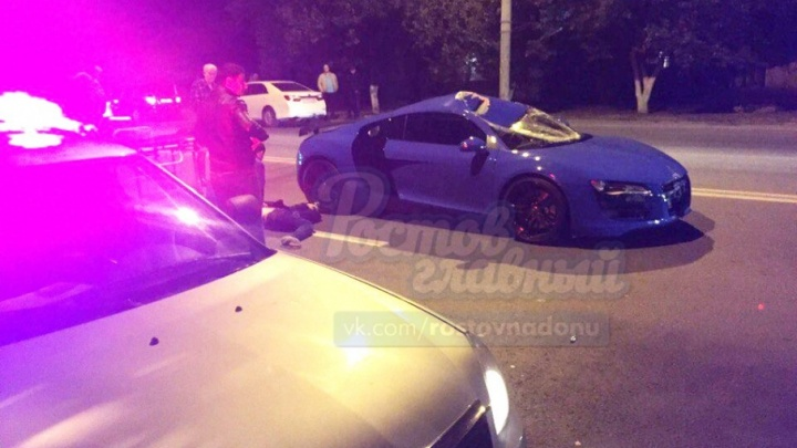 В Ростове гонщица на элитном авто сбила пешехода
