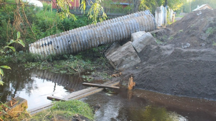 Ремонт дороги в поселке Динамо планируют завершить в течение суток