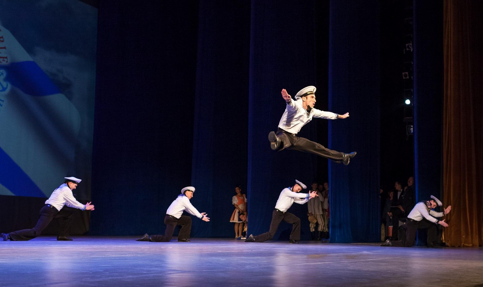 """Матросский танец """"Яблочко"""" - главный номер флотских коллективов"""