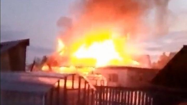 Две семьи остались без крыши над головой после пожара в Каскаре