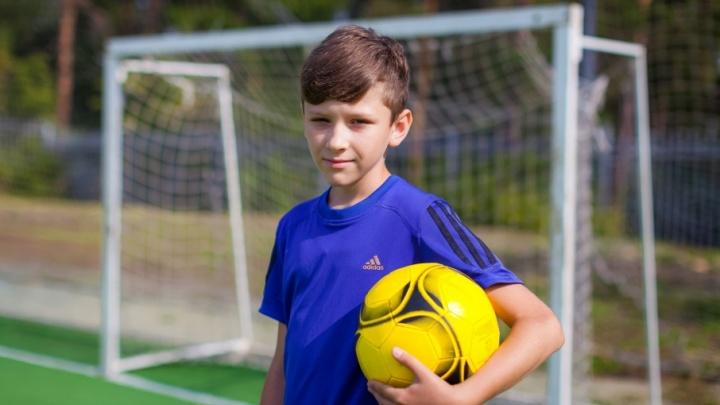 Болен футболом: юный челябинец с диабетом сыграет на турнире под эгидой FIFA