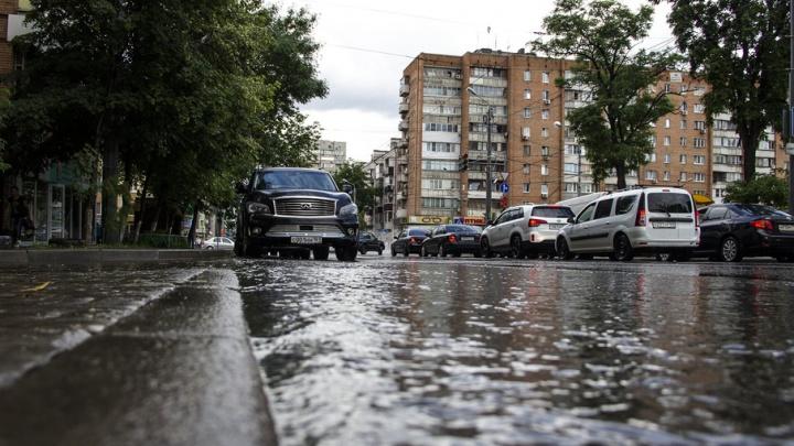 В Ростове в ближайшие часы ожидается сильный ливень с грозой