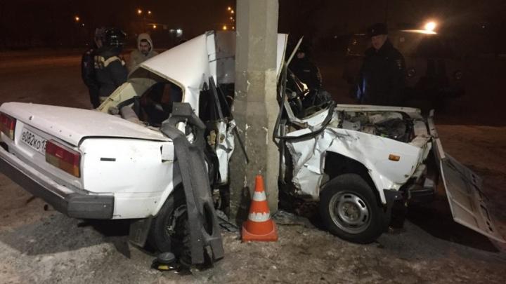 Страшная авария в Дзержинском районе: двое погибли, двоим чудом удалось выжить