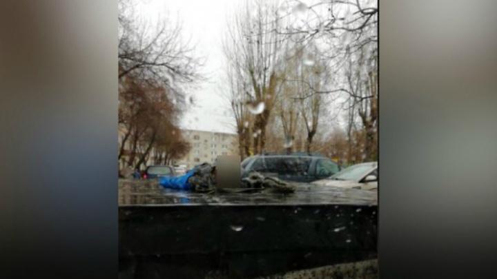 Тело мужчины достали из теплокамеры на Ставропольской