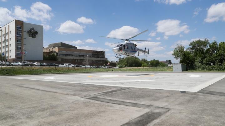 На воздушной скорой в Волгоград эвакуировано 29 пациентов