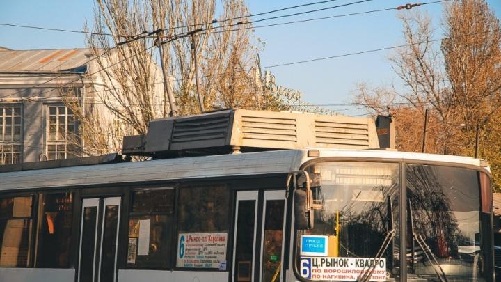 Власти Ростова планируют закупить для города 20 новых троллейбусов